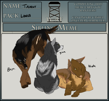 WoLF: Tawny's Siblings Meme by SomeSunnyBunny