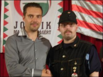 Hungarian Radical Party President  and I by Wakko2010
