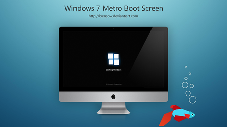 Windows 7 Boot Skin by BenSow