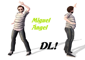 [MMD Model] Miguel Angel DL! by Lauraimon