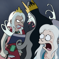 DISENCHANTMENT: Two Queens by ABSimpsons