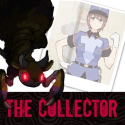 The Collector Visual Novel - Project Cover by HeartGear