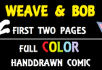 Weave and Bob (First 2 pages) by RyanSilberman