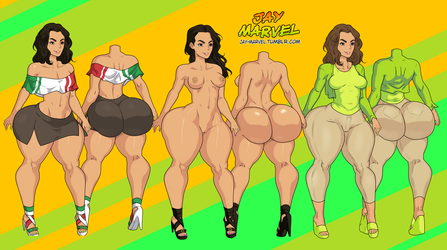 Carmen Outfits by Jay-Marvel