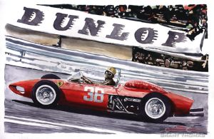 Dunlop 156 Sharknose by ferrariartist