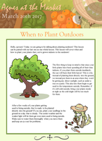 Agnes at The Market: When to Plant Outdoors by bagbeingintheknow