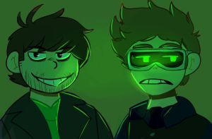 future! edd and tom by x-Beggon