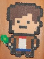 Doctor Who 11th Doctor Perler by LillyInverse