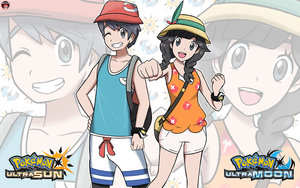 POKEMON ULTRA SUN AND ULTRA MOON PROTAGONISTS by Alexalan