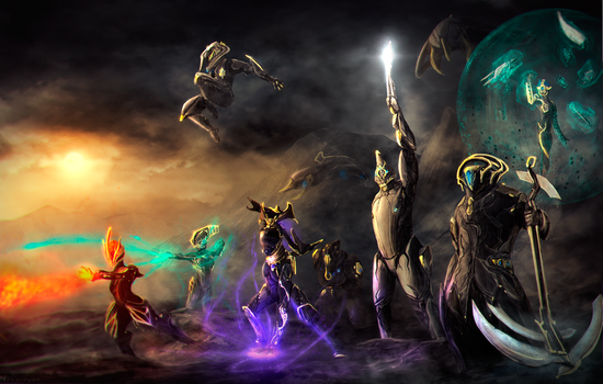 Warframe - Heroes of The Old War by Artarrwen