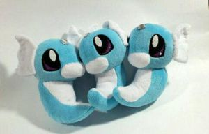 Pokemon - Dratini custom plush for sale