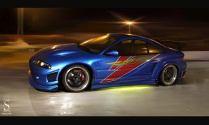 Mitsubishi Eclipse by SaphireDesign