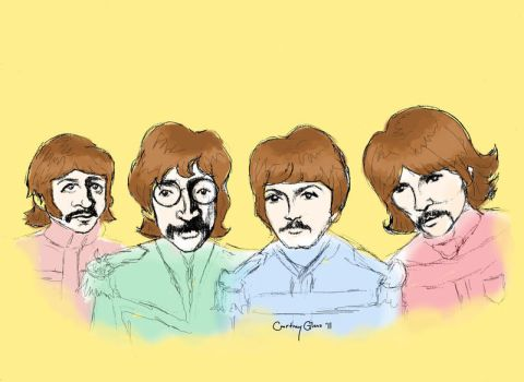 The Fab Four by PennyHorrible