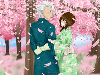 BLEACH: May Blossoms [OC x Canon] by meishiro
