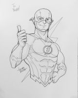 Flash NYCC Commission by LucianoVecchio