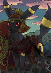 Legionary Umbreon - gift by TheIronTails