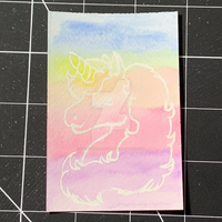 Unicorn Masking Fluid Test by SoVeryUnofficial