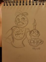 Toy Chica Doodle by PinkyPills