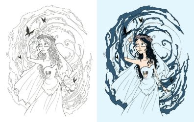 Corpse Bride - Emily by matsuorie