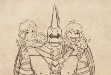 KH SOS Commission Sketch by CCDooMo