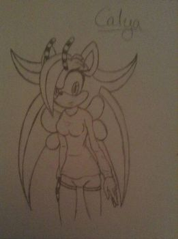 Request For Jack-the-hedgehog15 .::Calya::. by xXHeartless-RosesXx