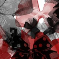 Photoshop Brushes - Bows by Kaydea-Stock
