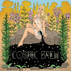 Cosmic Brew - EP Cover by AlexaHarwoodJones