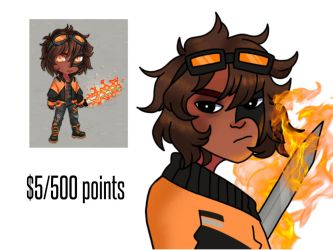humanoid adopt ($5/500 points) OPEN by spriteadopts