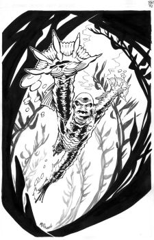 Creature From The Black Lagoon by ScottMcDaniel