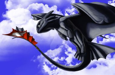 Toothless by HekateLesedi