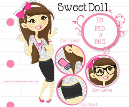 Sweet Doll by JhoannaEditions