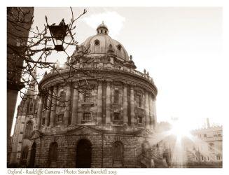 Radcliffe Camera in Oxford by fairyfrog