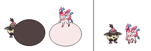 Vullaby and Sylveon Vore And Digest