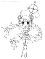 Sailor Irumei Lineart by YamPuff