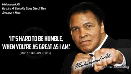 235.-Muhammad-Ali-Its-Hard-to-be-Humble-when-youre by Tiffany-Windsong