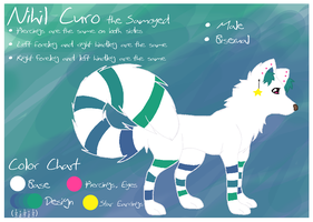 Reference Sheet: Nihil Curo by Kimmorz