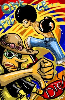 Chapter 313 AFRO LUFFY by jinguj