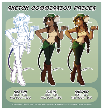 Commission Prices [Summer 2017] by Zaron