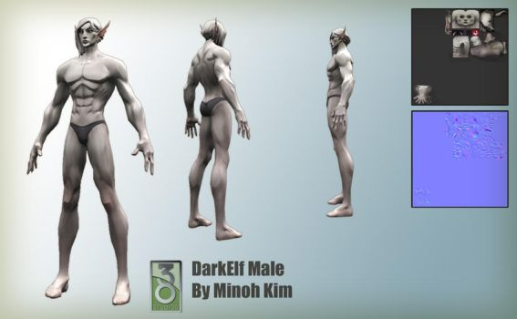 DokkAlfar Male Models by MinohKim
