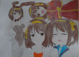 More Haruhi by FlyingLion76