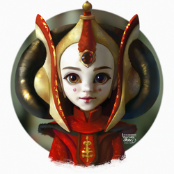 PADME STYLIZED by Byzwa-Dher