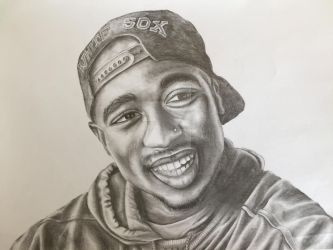 2Pac by Manimal-ZYK