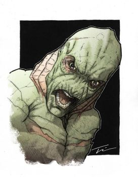 Creature From The Black Lagoon by TWKeller