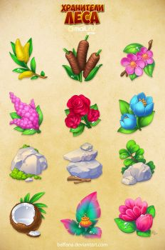 Forestkeepers icons pack 2 by Beffana