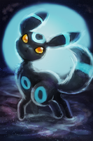 Umbreon by Foxeaf