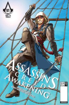 Assassin's Creed: Awakening Manga variant cover by sonialeong