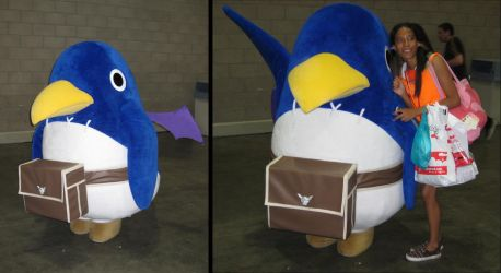 AX 2010 - It's a Prinny by Giolon