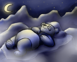 Nightfall Panda by ShakeablePanda