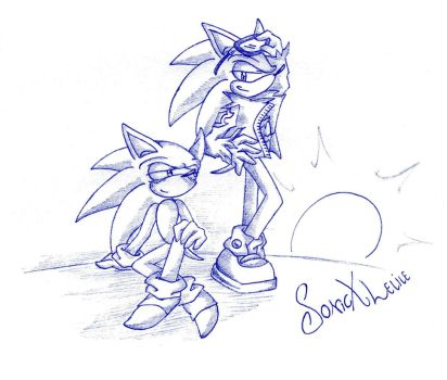 Sonourge sketch by SonicXLelile