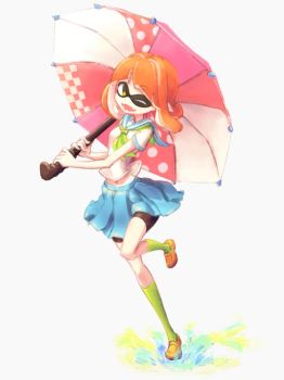 Highschool Inkling by makaroll410